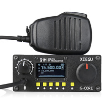 2019 NEW Xiegu G1M HF Transceiver Quad Band QRP SDR Short Wave 5W SSB CW AW 0.5 30MHz Portable Mobile Radio Amateur Enter Level