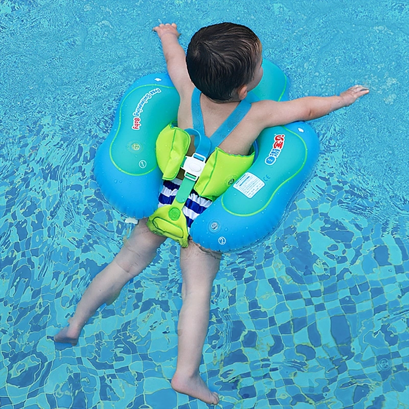 Baby Swimming Ring Inflatable Infant Float Swim Trainer Floating Kids Swim Pool Accessories Circle Double Raft Rings Bathing Toy