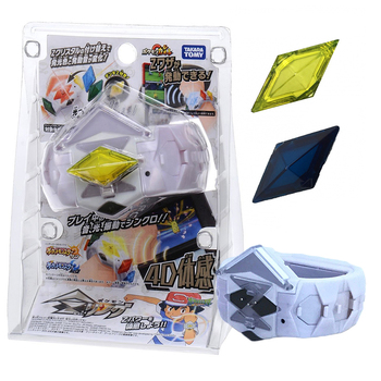 Genuine TAKARA TOMY Pokemon Action Figure Model Game Linkage 4D Somatosensory Z Bracelet Z Crystal Kids Gift Toys недорого