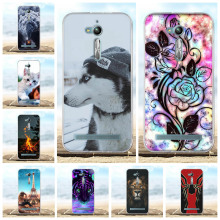 For Asus Zenfone Go ZB500KL Case Soft TPU Silicone For Asus Zenfone Go ZB500KG Cover Dog Patterned For Asus Go ZB500KL Bumper цена