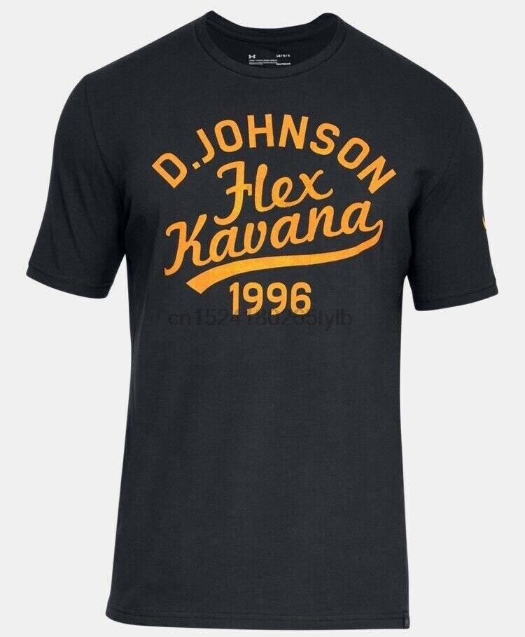 UA X PROJECT ROCK FLEX KAVANA SHIRT DWAYNE JOHNSON TEE WRESTLING OUT OF T-SHIRT