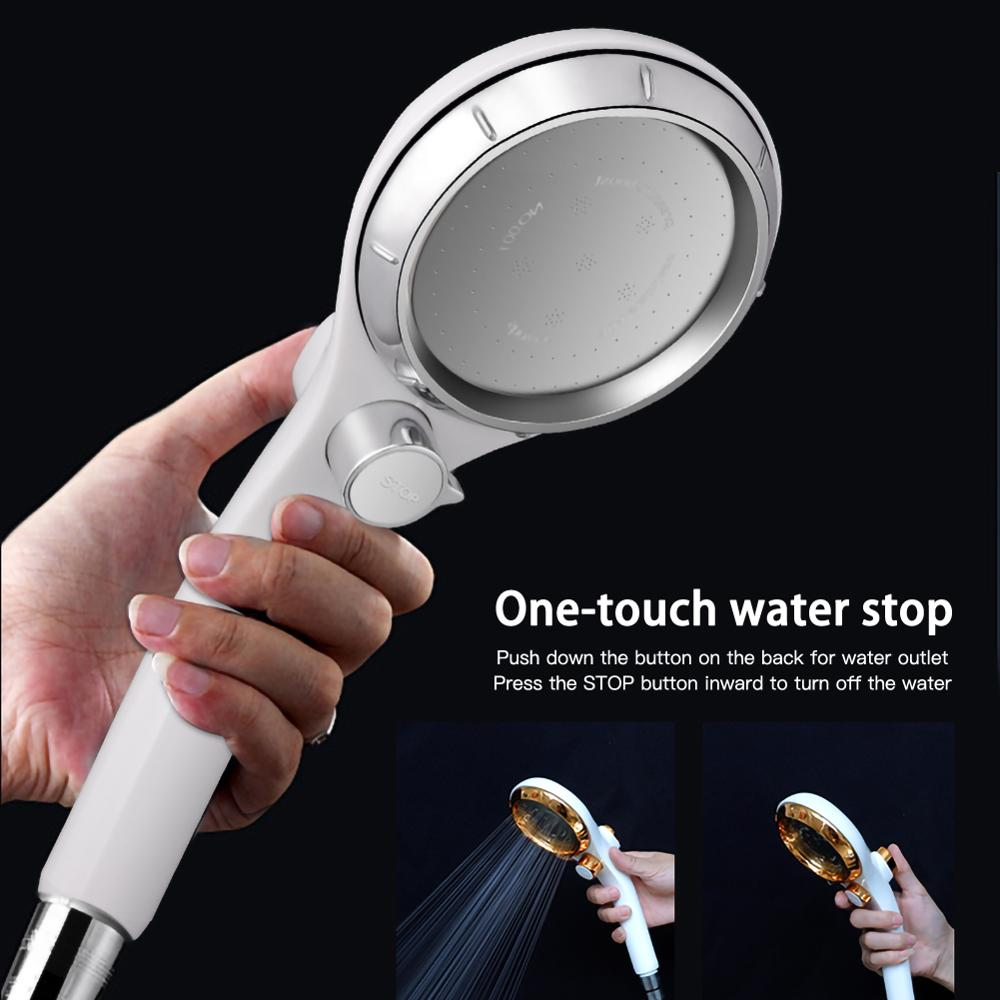 Handheld глава душ высокого давления с ВКЛ/ВЫКЛ переключатель перерыва экономии воды один японский душем