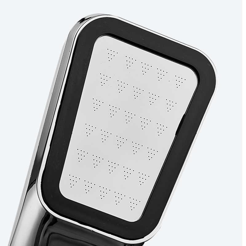300 otwory wysokociśnieniowa woda bateria prysznicowa deszczownica oszczędzająca wodę ABS Chrome filtr dysza natryskowa Panel potężne akcesoria łazienkowe