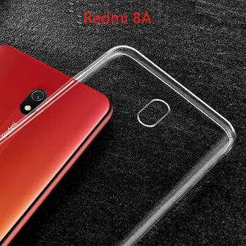 Redmi 8A ultra-cienki przezroczysty futerał na Redmi8A przezroczysty miękki silikonowy TPU etui na telefon shell dla Redmi 8A 8 przezroczysty futerał tanie i dobre opinie Aneks Skrzynki Shockproof soft case For Xiaomi Redmi 8A Geometryczne Zwykły Odporna na brud Anti-knock