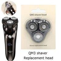 Xiaomi-Cabezal de repuesto para Afeitadora eléctrica para hombre, cabezal de afeitar eléctrico resistente al agua IPX7, cortador de barba, cabeza 3D, cabeza desmontable