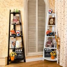 Скандинавские креативные угловые полки для комнаты, декоративные книжные полки, простые настенные угловые полки для гостиной, Цветочная полка для отдыха