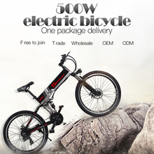 electric bike 21 speed 10ah 48 v, 500 w built-in lithium battery, ebike electric bicycle