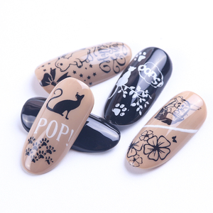 Image 3 - STZ Christmas Designs Nail Stamping Plates Snowflakes Deer Gift Nail Art Stamp Templates Stencils Polish Manicure Tools STZ N/BE