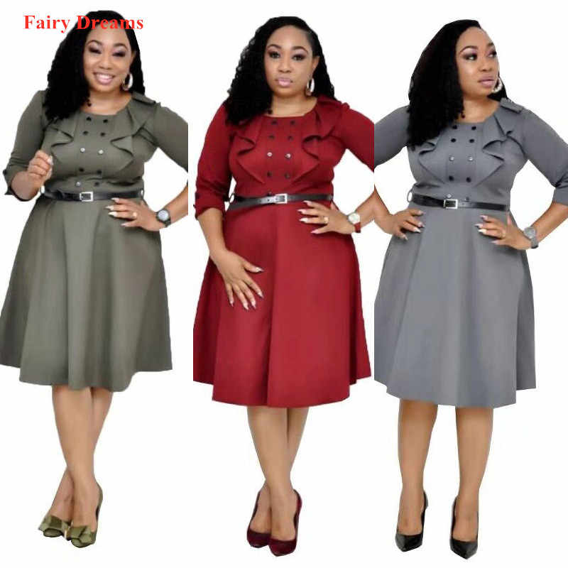 African Dress Summer Style Plus Size