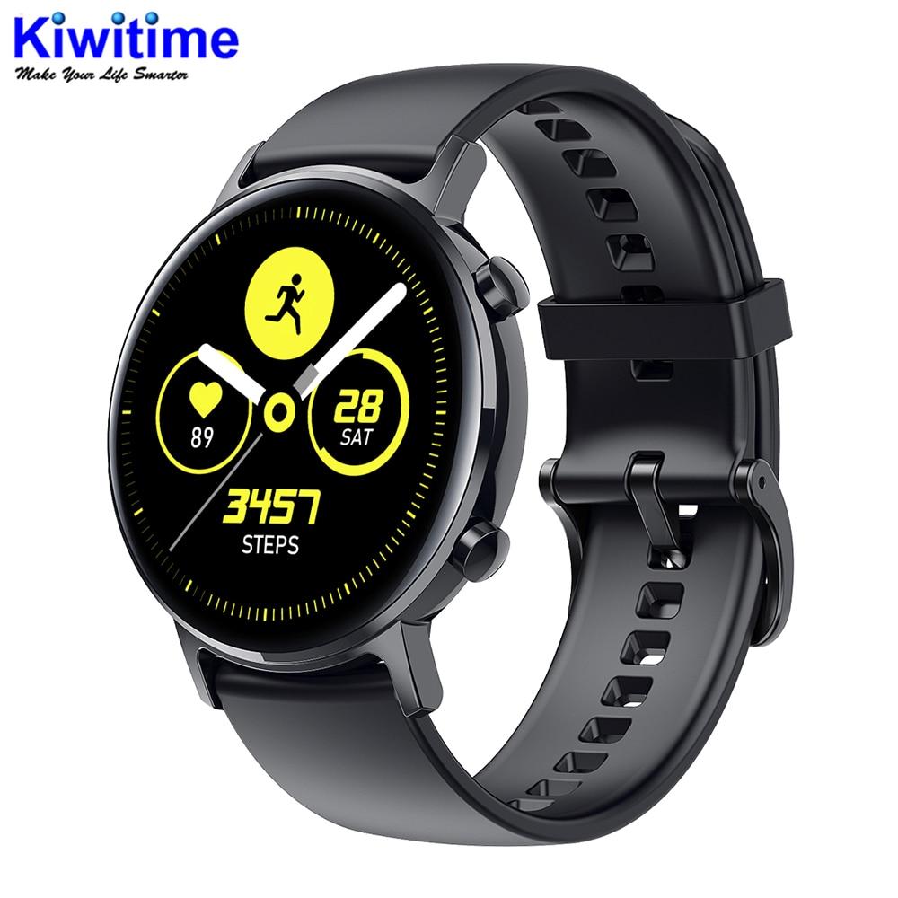 Kiwitime sg3 toque completo amoled 390*390 tela hd ecg relógio inteligente de carregamento sem fio