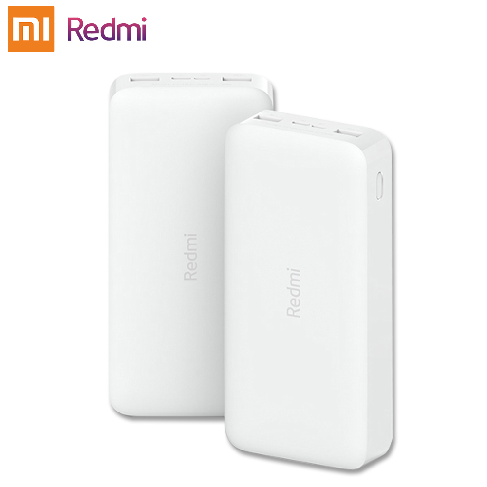 Original Xiaomi Redmi <font><b>Power</b></font> <font><b>bank</b></font> 10000mAh Mi Powerbank <font><b>20000</b></font> Qi Fast Charger Portable Charging Poverbank image
