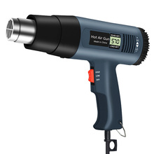 Hair-Dryer Eu-Plug Lcd-Display Thermal-Power-Tool Hot-Air-Gun Electric Digital Heat-Soldering