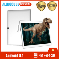 ALLDOCUBE X Tablet PC 10.5 inch AMOLED Screen MTK 8176 Hexa Core 4GB RAM 64GB ROM Android 8.1 Wifi BT4.0