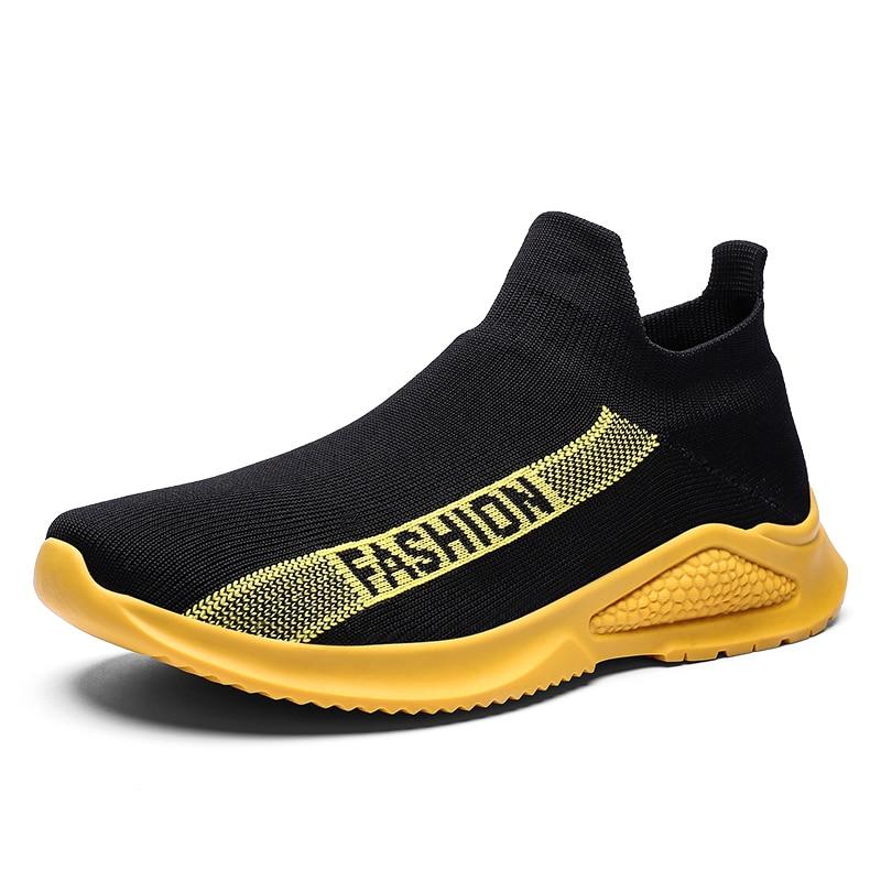 TGoBro Men's Athletic Walking Shoes Casual Mesh-Comfortable Work Sneakers