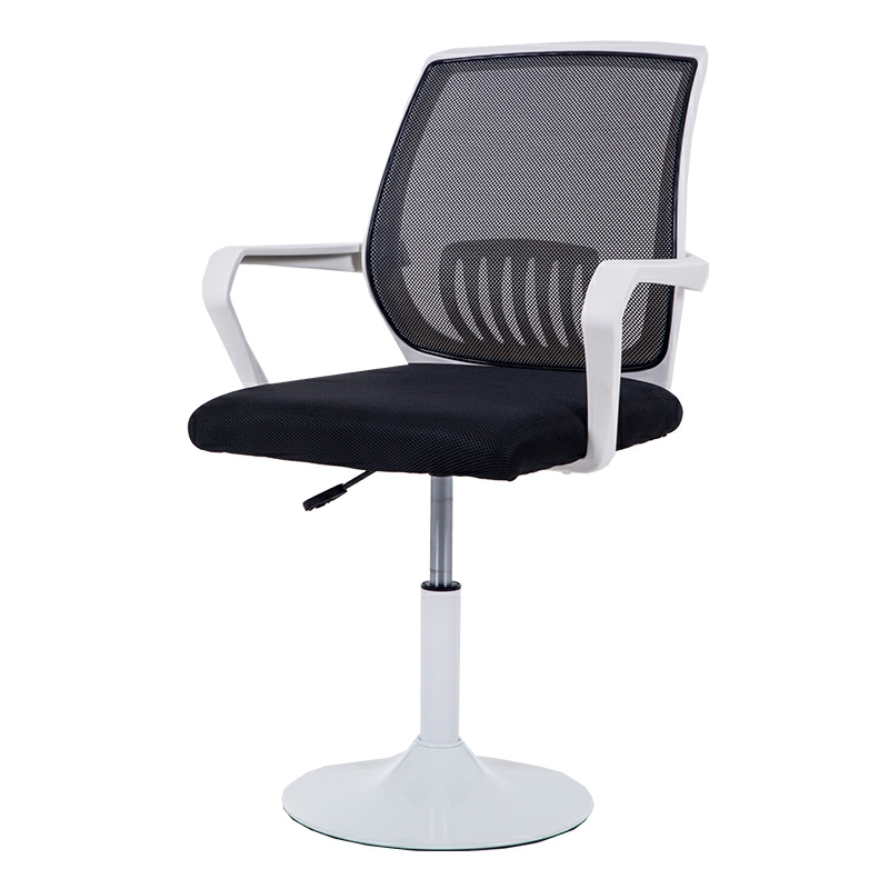 Home Computer Chair Office Chair Back Lift Chair White Study Chair Learning Chair Disc Modern Minimalist Stool