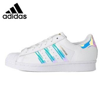 Original New Arrival Adidas Originals SUPERSTAR W Women's Skateboarding Shoes Sneakers 1