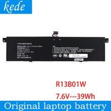 Bateria original do portátil de kede r13b01w para xiao mi ar 13.3