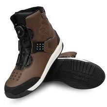 Motorbike Boots DUHAN Waterproof Men Shoes