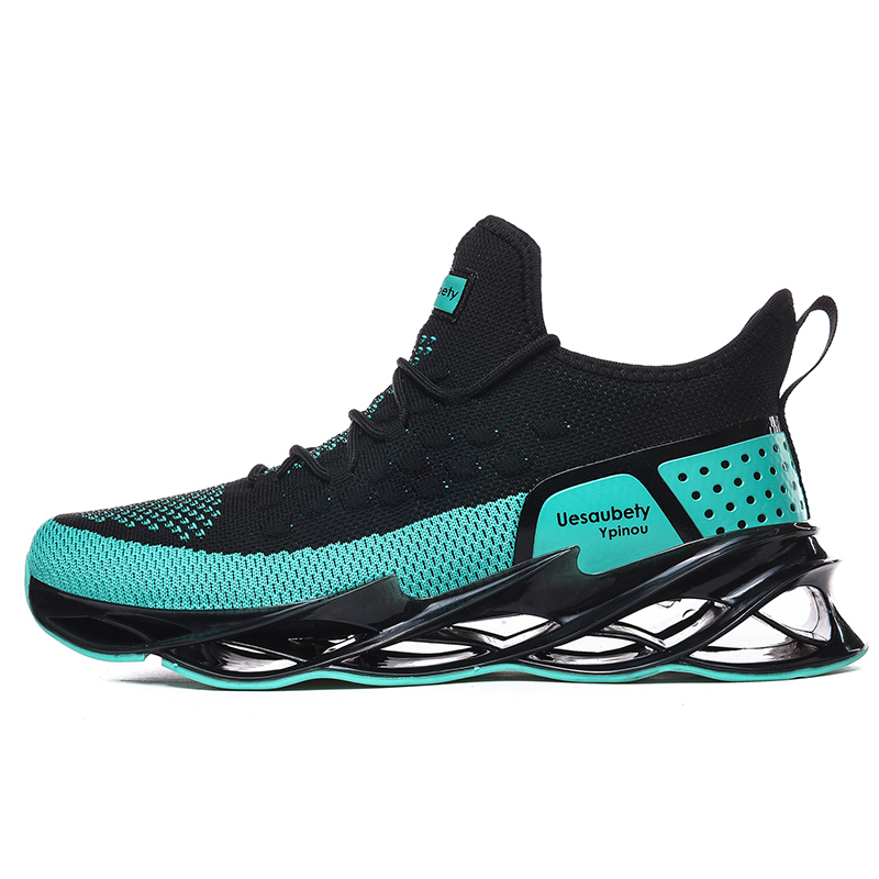 2019 New Fashion Classic Summer Shoes Men Flyweather Comfortables Breathable Non-leather Casual Blade Mesh Jogging Shoes