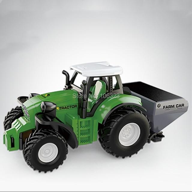 RC Mini Farmer Car, Die-Casting Farm Tractors, Craze Match New Driving Emotion Radio Control Car Run Rac, Super Impetus R/C Toys 3