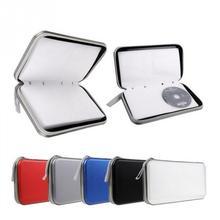 80 Disc CD DVD przenośny portfel do przechowywania pudełko typu Organizer Case Bag uchwyt na Album opakowanie z tworzywa sztucznego