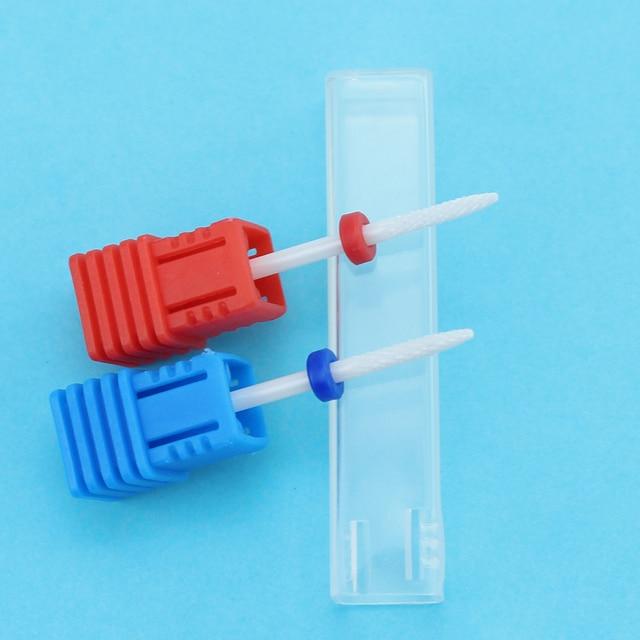 Фрезер, керамическое сверло для ногтей для маникюра 6