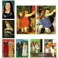 Абстрактные забавные картины на холсте с изображением танцора Фернандо Ботеро фото и принты скандинавские настенные картины декор