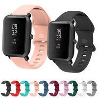 Cinturino in Silicone da 20mm per Xiaomi Huami Amazfit Bip / Bip S U lite cinturino pop sostituire il braccialetto per Amazfit BIP U pro cinturino da polso