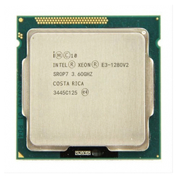 Intel xeon işlemci E3-1280 V2 e3 1280 v2 8M önbellek, 3.6 Ghz dört çekirdekli İşlemci LGA1155 masaüstü işlemci