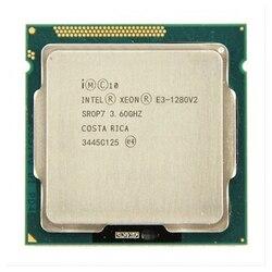 Processador intel xeon E3-1280 v2 e3 1280 v2 8 m cache, processador quad-core 3.6 ghz lga1155 desktop cpu