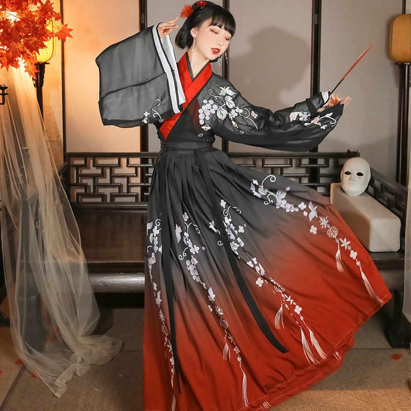 Tradizionale cinese Intrattenimento Musiche E Canzoni del Vestito per Le Donne Antico Tang Dynasty Fata Principessa Costume di Linguetta del vestito Folk Prestazione Della Fase di Ballo