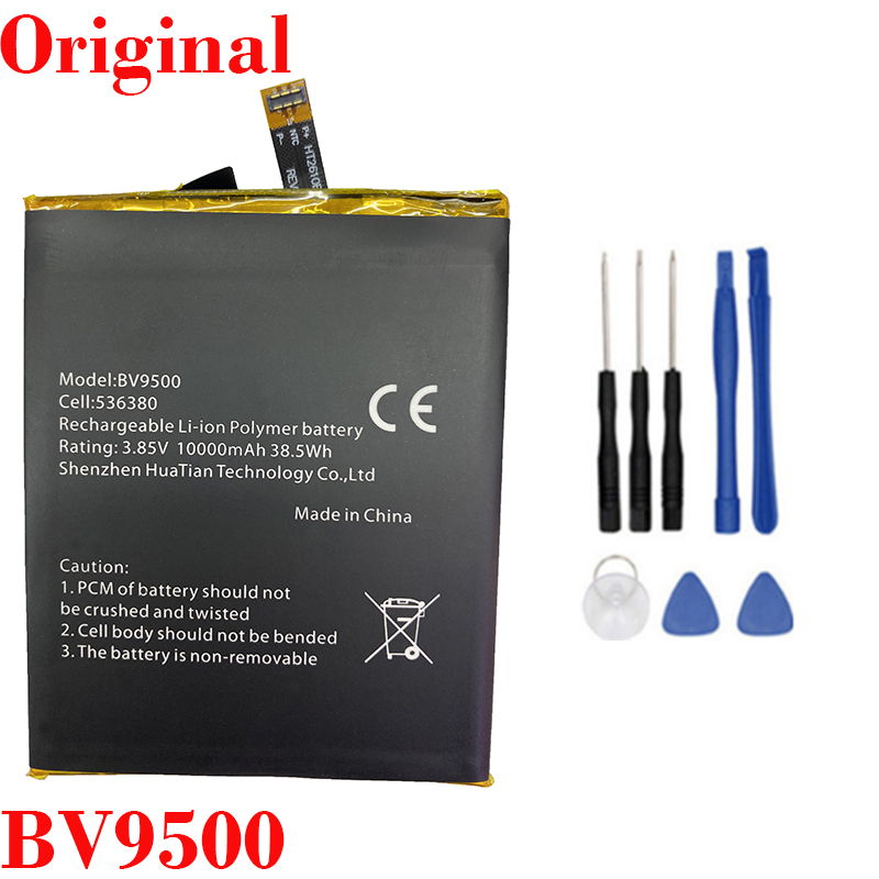 100% Original 10000mAh BV9500 Battery For Blackview BV9500 Pro MT6763T 536380 Phone High Quality Battery+Tracking number image