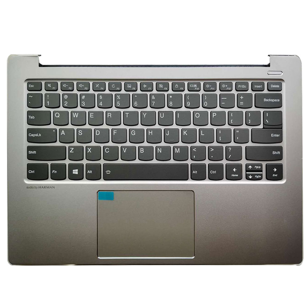 New US Keyboard For LENOVO 530S-14 530S-14ARR  US Keyboard With Palmrest Upper Case AM1712000240