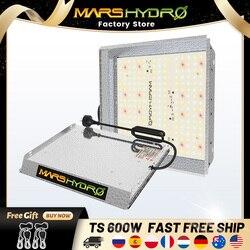 TS 600W Mars hydro espectro LED Luz de crecimiento Sunlike, reemplazo quantum HPS interior hidropónico, tabla de luces de cultivo de plantas