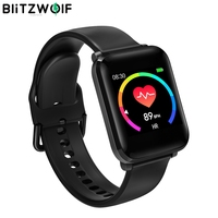 BlitzWolf BW HL1 1.3' IPS Smart Watch 8 Sport Mode IP68 Multi language Display HR Blood Pressure 15Days Standby Fitness Tracker