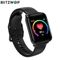 BlitzWolf BW HL1 1.3' IPS Smart Watch 8 Sport Mode IP68 Multi language Display HR Blood Pressure 15Days Standby Fitness Tracker