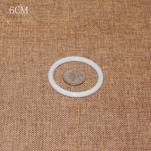 Круглый обруч прочное кольцо «Ловец снов» пластик белый DIY аксессуары большой