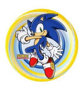 Marvelous Sonic The Hedgehog Cake Topper Edible Wafer Paper Baby Boy Personalised Birthday Cards Veneteletsinfo