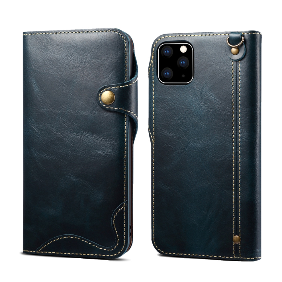 Durable Genuine Leather Wallet Case for iPhone 11/11 Pro/11 Pro Max 4