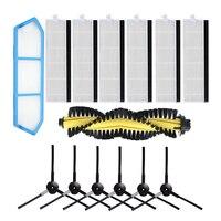 Ersatz Seite Pinsel Wichtigsten Pinsel Filter Für Ilife A4 Roboter Staubsauger-in Staubsauger-Teile aus Haushaltsgeräte bei