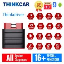 ThinkCar Thinkdriver האוניברסלי OBD2 Bluetooth אבחון OBD 2 סורק רכב pk Thinkdiag ap200 ap200m LANUCH