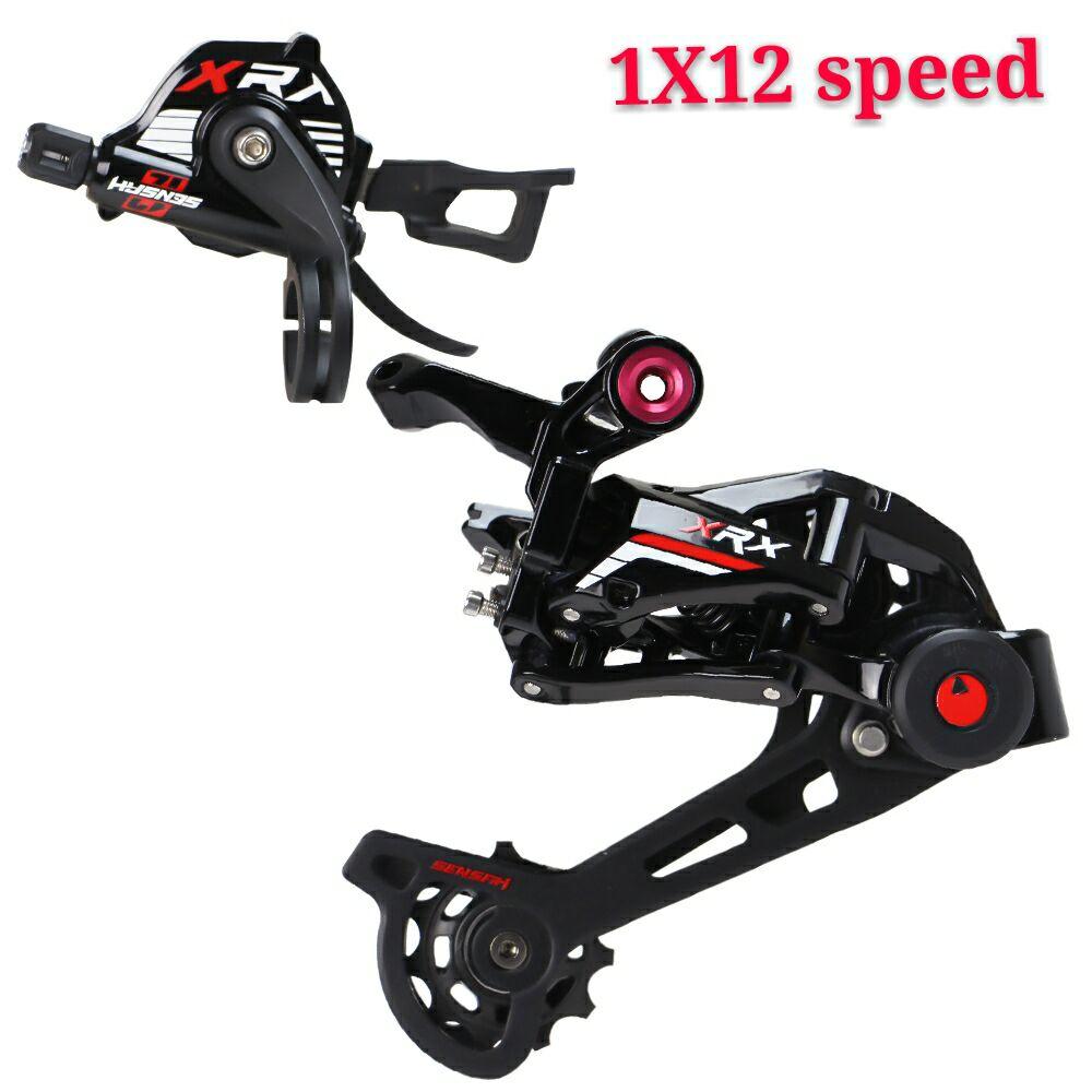 RACEWORK SENSAH XRX 1 X 12 Speed Shifter Lever + Rear Derailleur 12s For MTB, M9100 Eagl