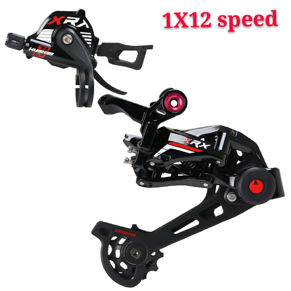 SENSAH XRX 12 Speed Shifter + Rear Derailleur + Cassette 52T  Groupset ,Compatible for M9100 Eagle MTB Bicycle