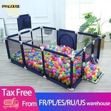 Piscine sèche pour bébés, parc pour enfants, terrain de jeu, basket-Ball