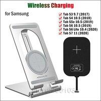 Nillkin Schnelle Drahtlose Ladestation für Samsung Galaxy Tab S7 S6 Lite S5e S4 S3 10,4 10,5 Qi Drahtlose Ladegerät + 10W USBC Empfänger