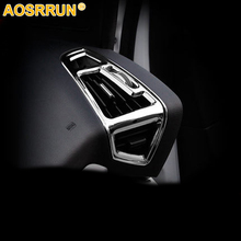 Car Accessories Interior Trim Chrome Air Conditioning L/R Outlet Cover ABS For Ford C-MAX CMAX 2011 2012 2013 2014 2015 2GEN LHD