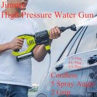 Jimmy JW31 Car Washing Gun High Pressure Handheld Cordless Washer Machine 5 Modes Adjustable Hose 6M for Home Garden Car Clean
