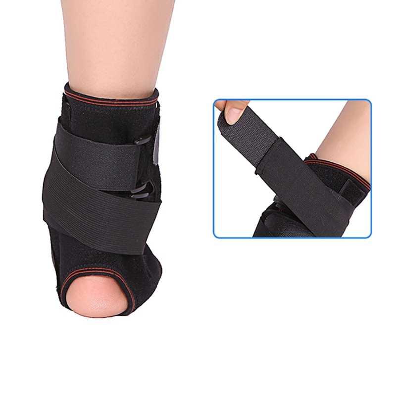 1pc 足首のサポート通気性調節可能な足ヒールカバー保護ラップフィットネススポーツウェア
