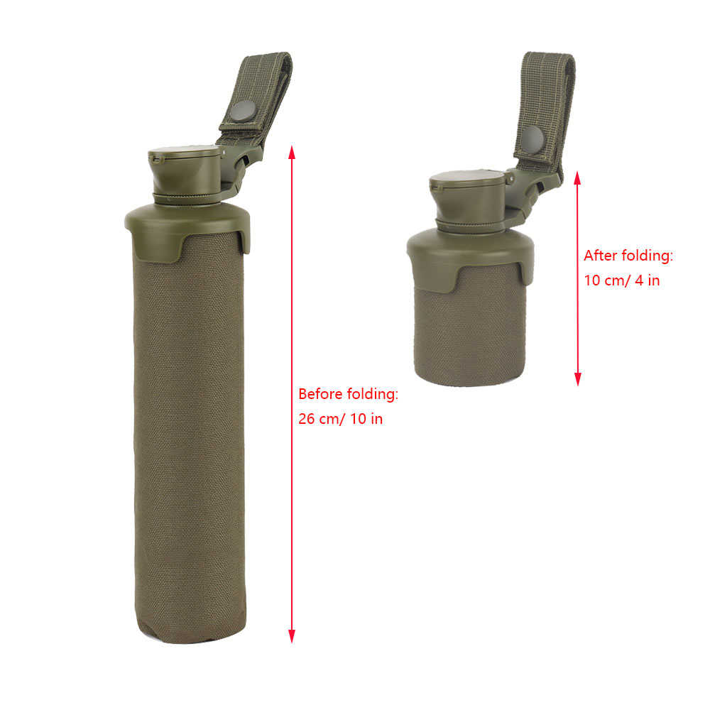 Folding Tactical Bb Storage Bag 1000D Nylon Grote Capaciteit Molle System Paintball Accessoires Airsoft Schieten Tijdschrift