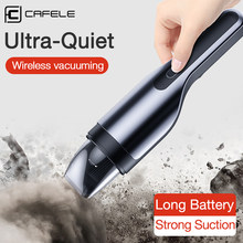 CAFELE Mini Car Vacuum Cleaner Wireless 80W 5500Pa Rechargeable Handheld Vacuum Cyclone Filter Wet/Dry Auto пылесос автобильный